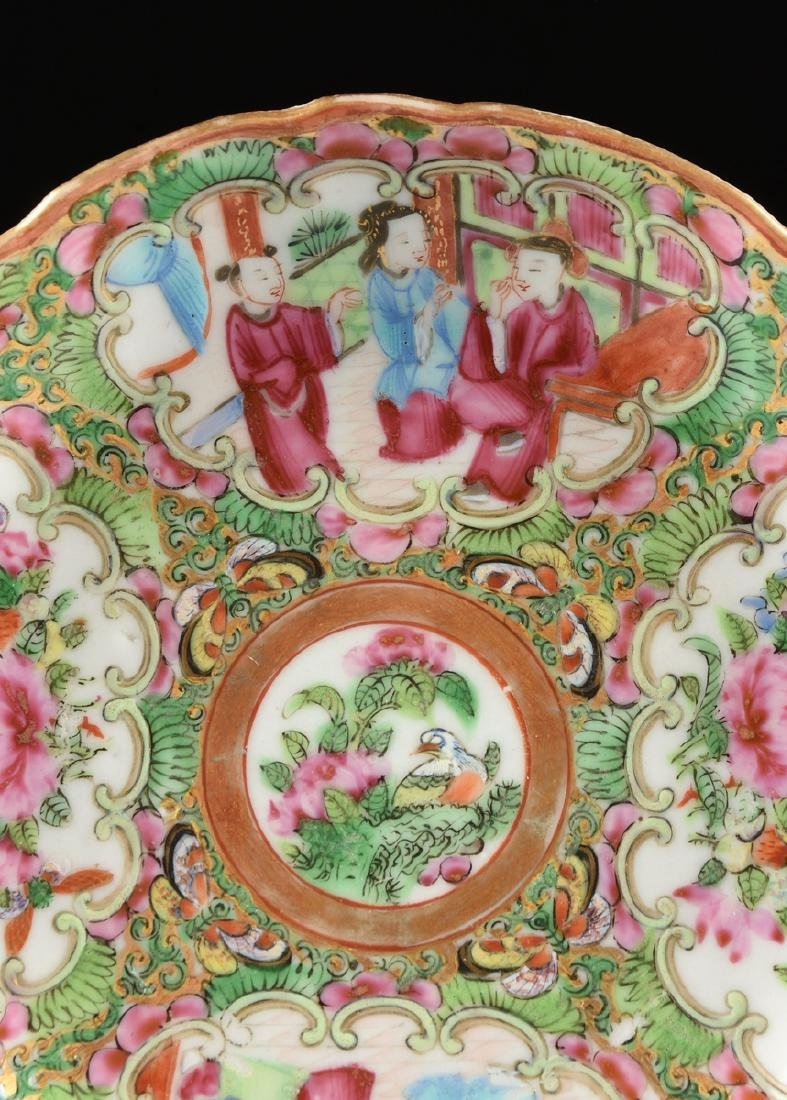 """A CHINESE EXPORT PORCELAIN """"ROSE MEDALLION"""" PATTERN - 3"""