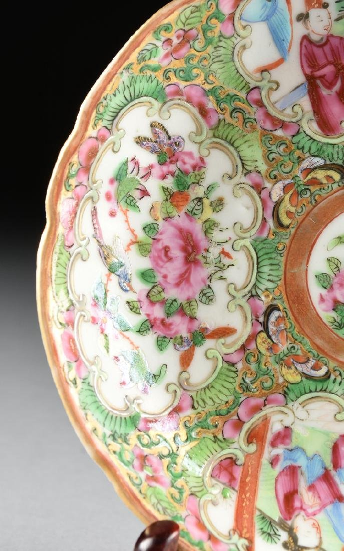 """A CHINESE EXPORT PORCELAIN """"ROSE MEDALLION"""" PATTERN - 4"""