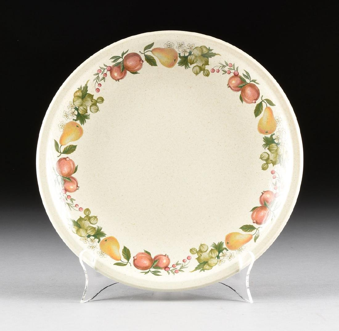 """A SET OF WEDGWOOD """"QUINCE"""" PATTERN OVEN-TO-TABLE - 2"""