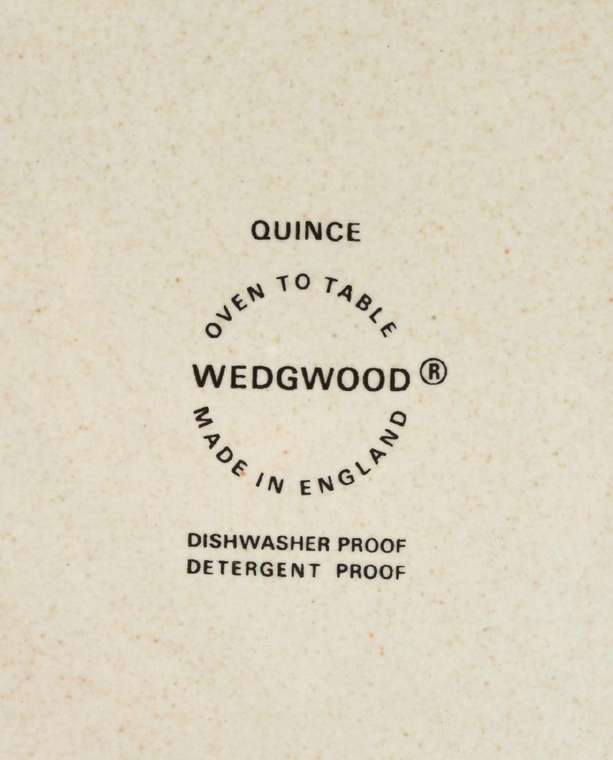 """A SET OF WEDGWOOD """"QUINCE"""" PATTERN OVEN-TO-TABLE - 3"""