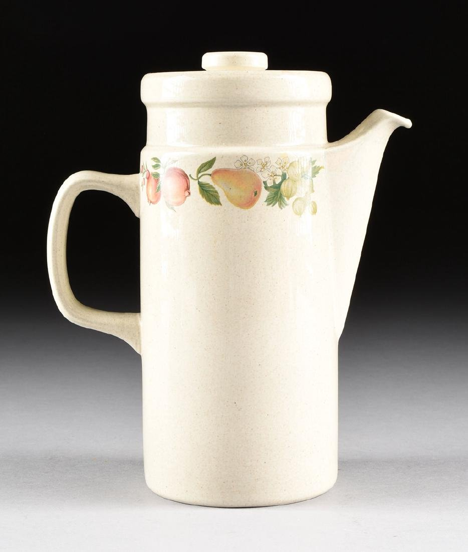 """A SET OF WEDGWOOD """"QUINCE"""" PATTERN OVEN-TO-TABLE - 4"""