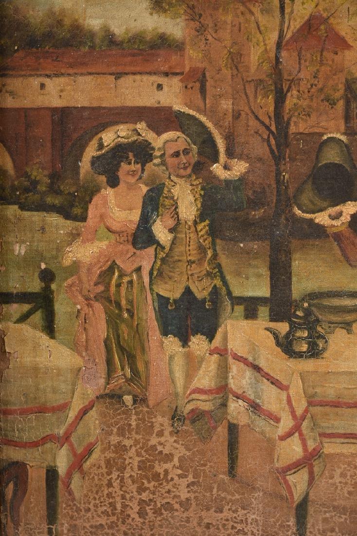 "M. GONZALEZ, ""La Carta,"" A SPANISH PAINTING, 19TH - 6"