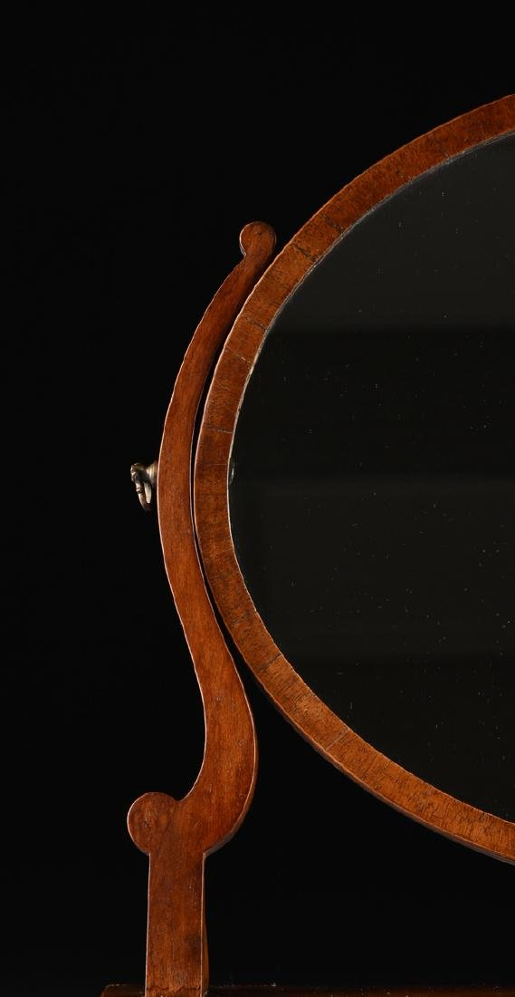 A LATE VICTORIAN/EDWARDIAN GENTLEMAN'S FLAME MAHOGANY - 5