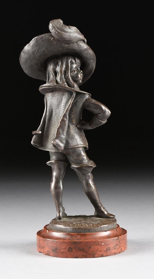 A PAIR OF LOUIS KLEY (French 1833-1911) PATINATED - 5