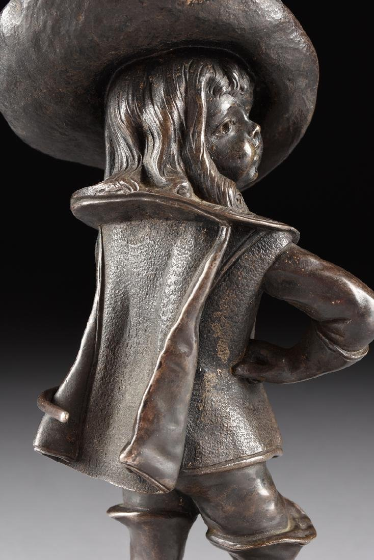 A PAIR OF LOUIS KLEY (French 1833-1911) PATINATED - 6
