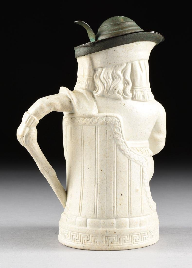 A GROUP OF EIGHT MUGS AND TANKARDS, - 4
