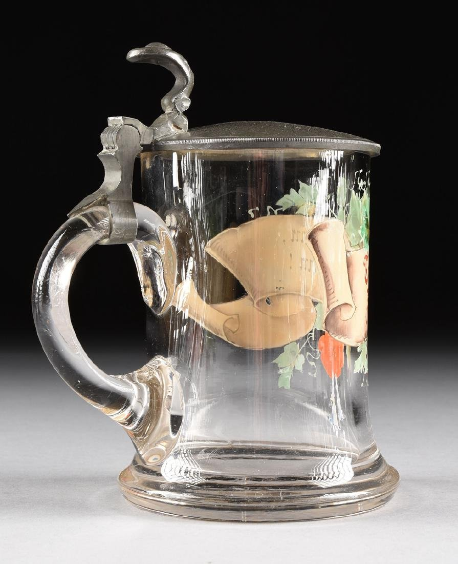 A GROUP OF EIGHT MUGS AND TANKARDS, - 6