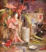 "LAURA ROBB (American, b. 1955) A PAINTING ""Still Life"