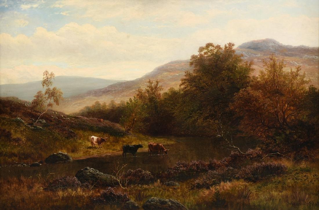 WILLIAM MELLOR (British 1851-1931) A PAINTING,