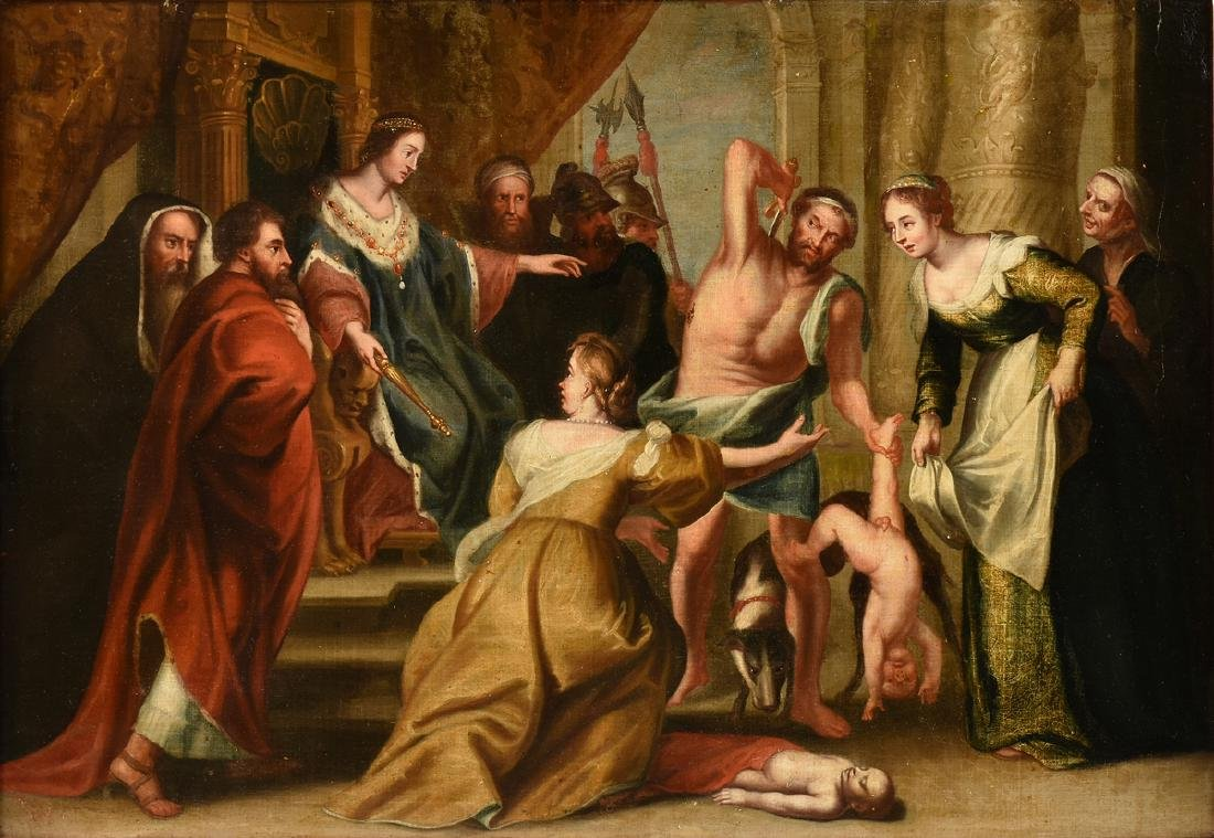 after SIR PETER PAUL RUBENS (Flemish 1577-1640) late
