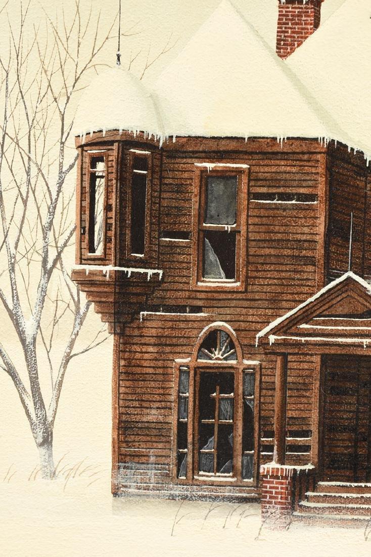 KEN FLEISCH (American/Texas 1943-2008) A PAINTING, - 7