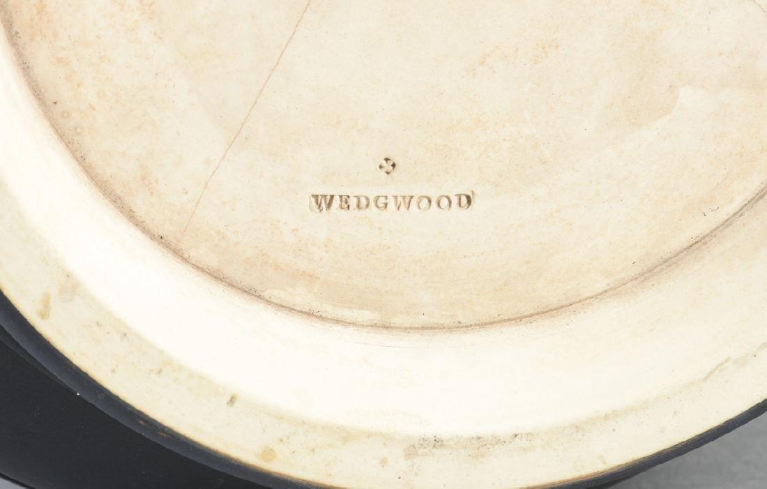 A WEDGWOOD BLACK JASPER DIP JARDINIERE, ETRURIA, - 9