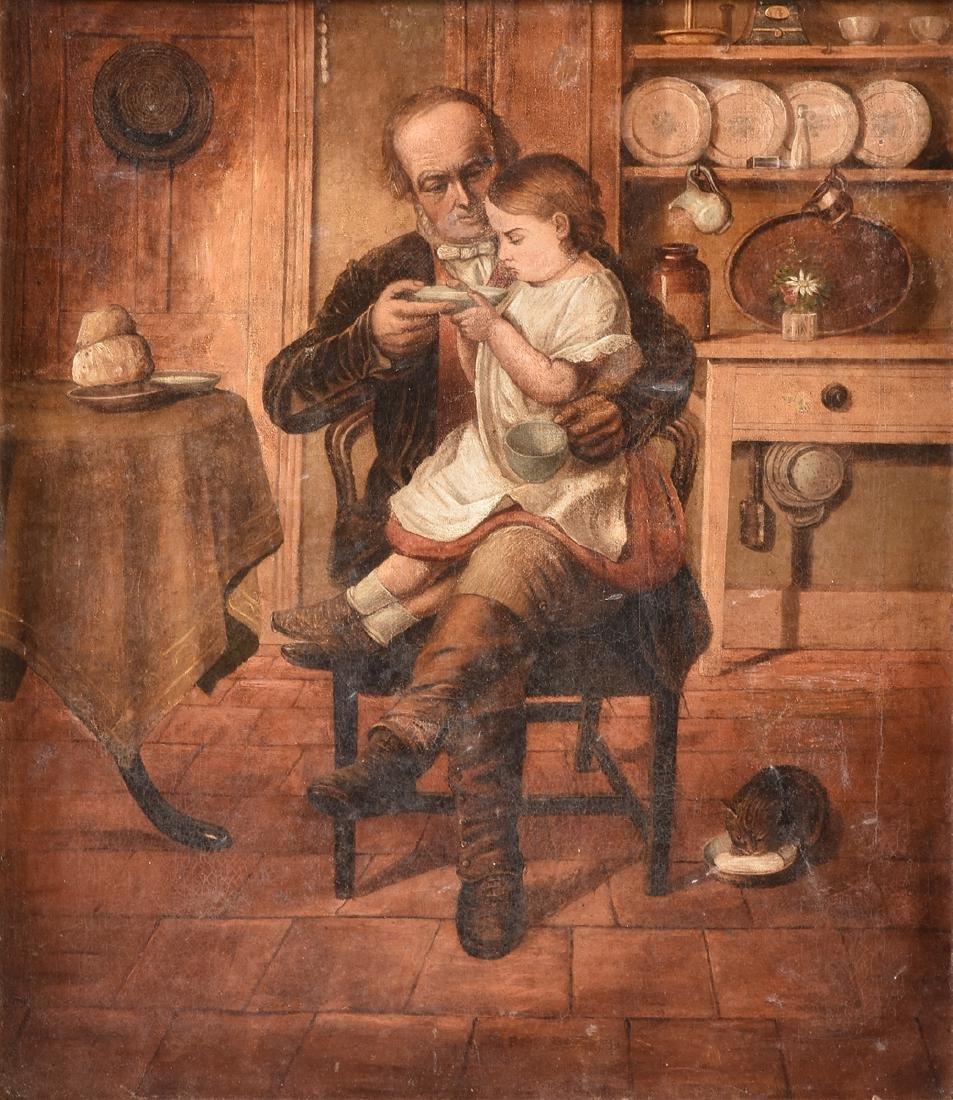 "A DUTCH STYLE GENRE SCENE, 19TH CENTURY, ""The Good"