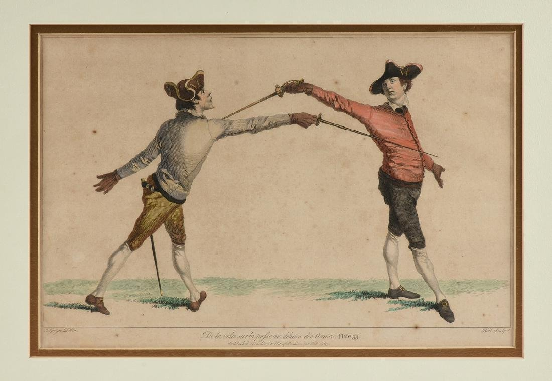 after JAMES GWIN (British 1700-1769) TWO HAND COLORED - 2