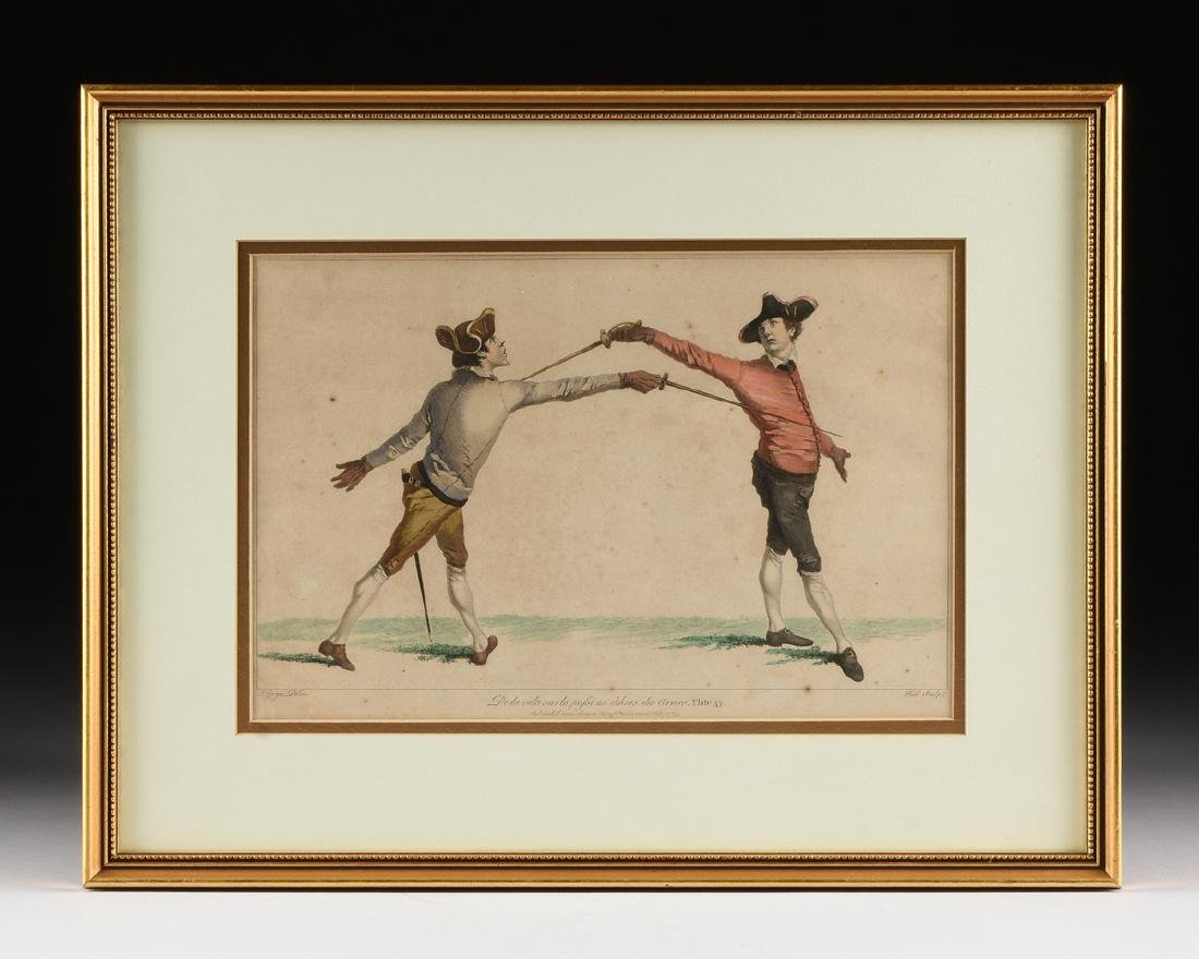 after JAMES GWIN (British 1700-1769) TWO HAND COLORED - 4