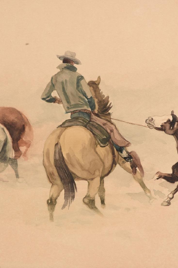 MC NEIL (American Western 20th Century) A PAINTING, - 5