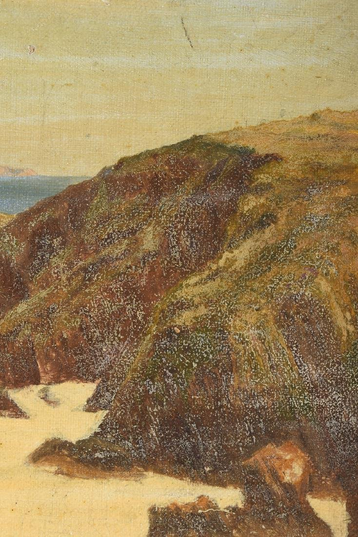 "F. KNIGHT, A PAINTING, ""Rocky Seascape,"" - 3"