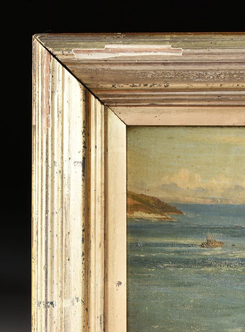 "F. KNIGHT, A PAINTING, ""Rocky Seascape,"" - 8"