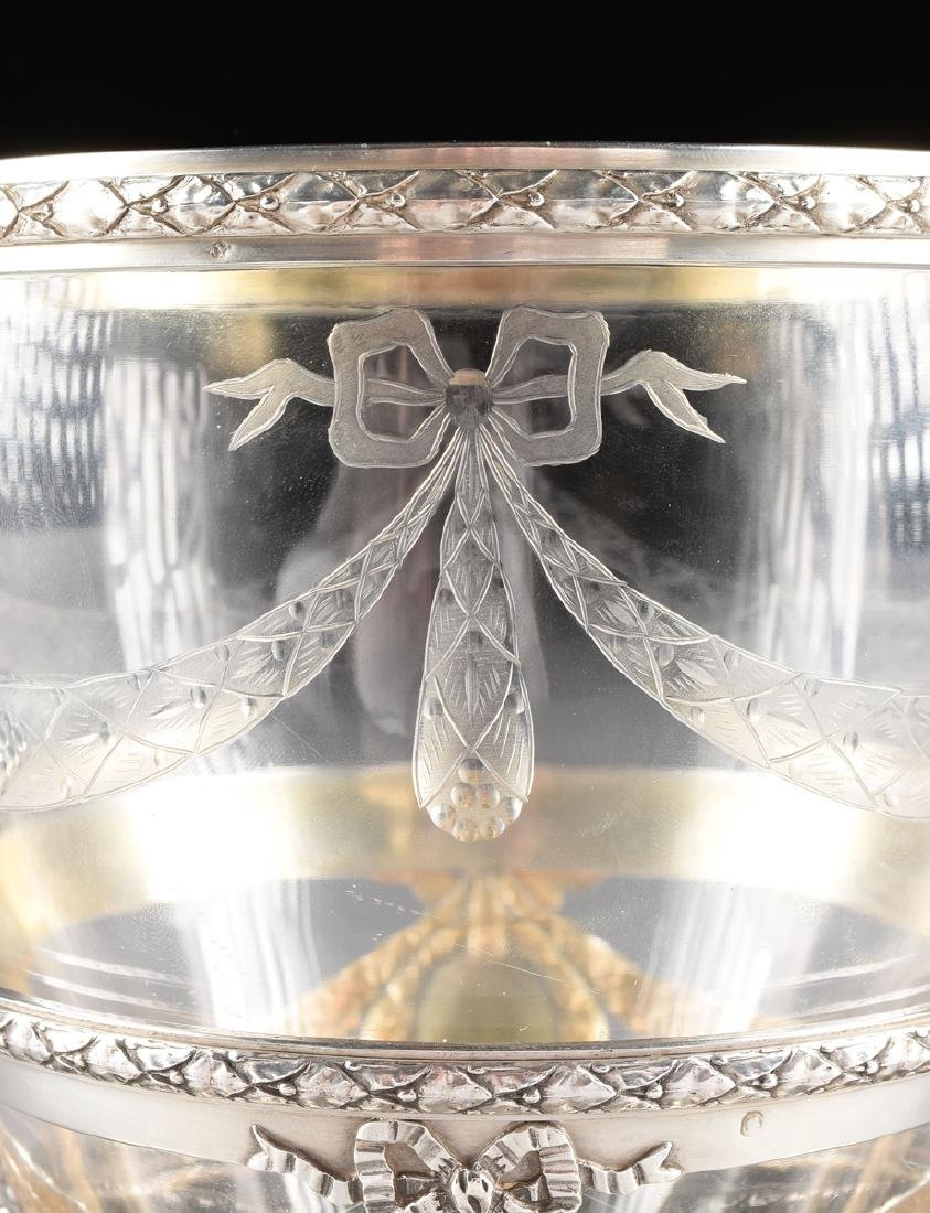 AN AUGUSTE LEROY & CIE 950 STANDARD SILVER AND ETCHED - 2