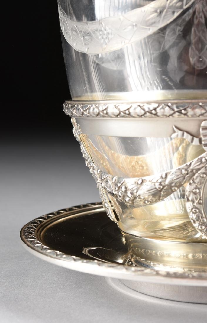 AN AUGUSTE LEROY & CIE 950 STANDARD SILVER AND ETCHED - 3