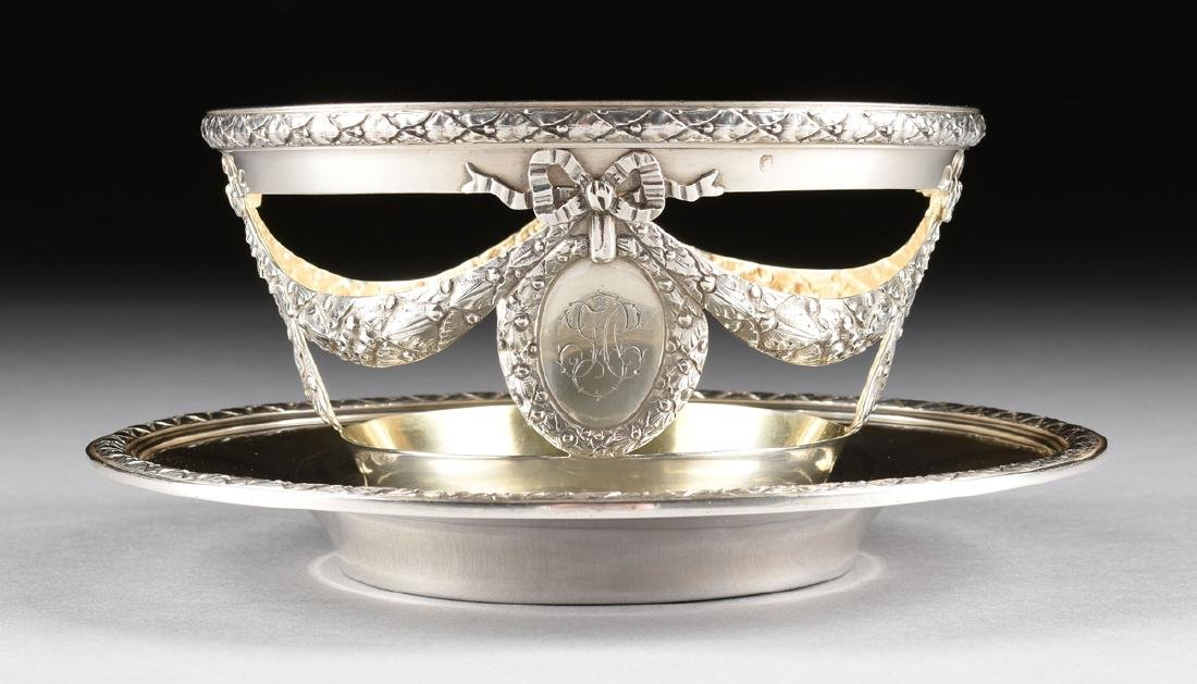 AN AUGUSTE LEROY & CIE 950 STANDARD SILVER AND ETCHED - 9