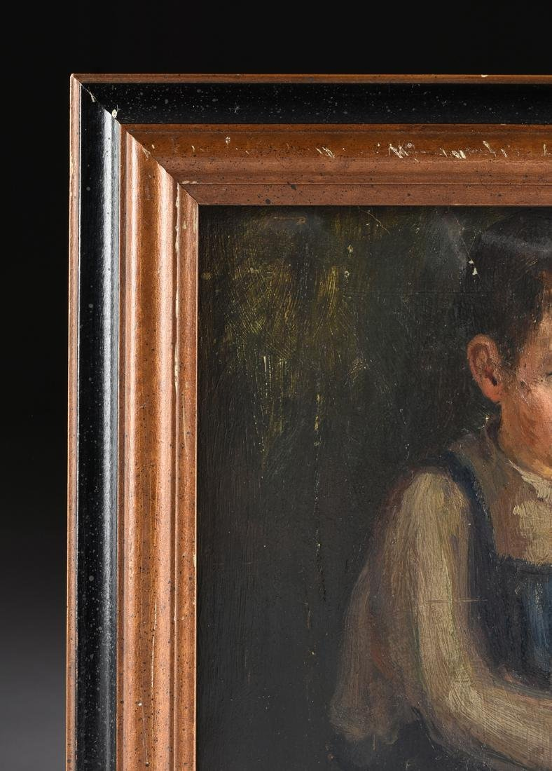 AN AMERICAN DEPRESSION ERA PAINTING, EARLY 20TH - 3
