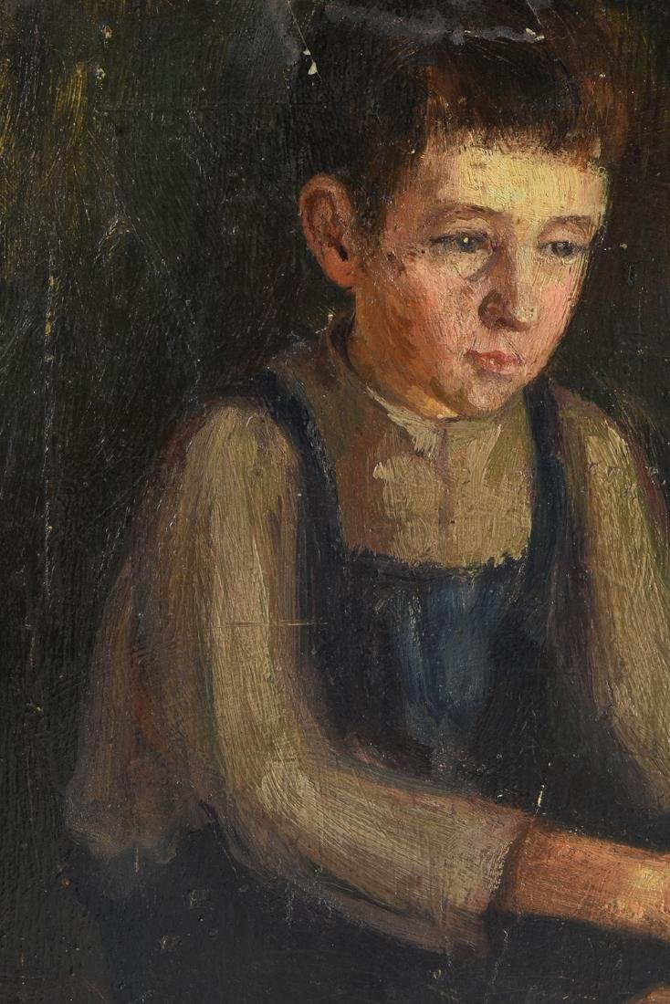 AN AMERICAN DEPRESSION ERA PAINTING, EARLY 20TH - 8