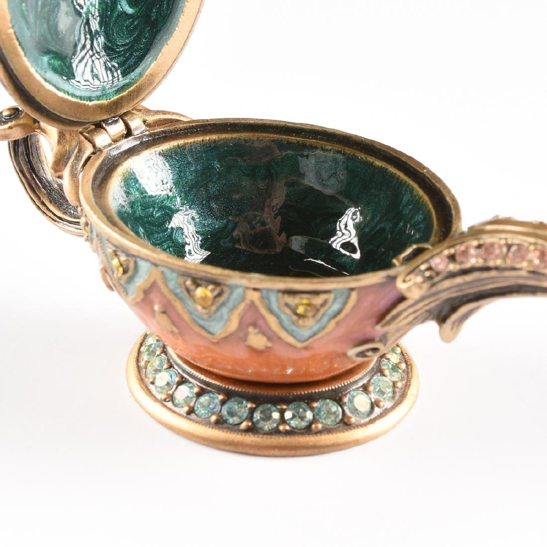 A GROUP OF JAY STRONGWATER GILT METAL AND ENAMEL - 9