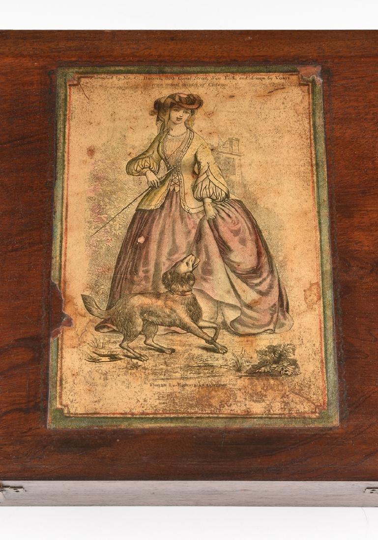 AN AMERICAN MAHOGANY BOX WITH HINGED LID, CIRCA 1900, - 3