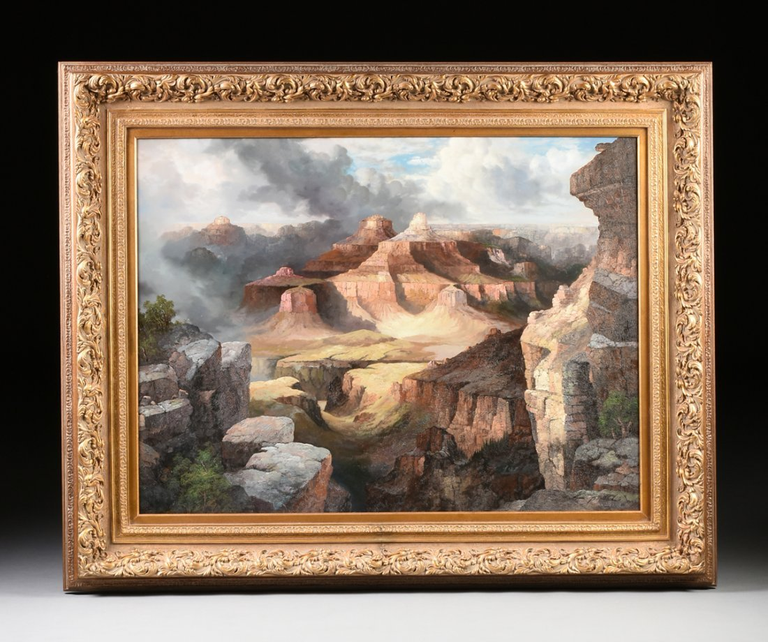 """NANCY LEE (20th Century) A PAINTING, """"The Grand Canyon, - 2"""