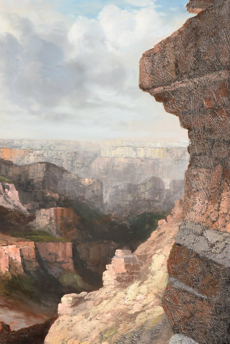 """NANCY LEE (20th Century) A PAINTING, """"The Grand Canyon, - 6"""