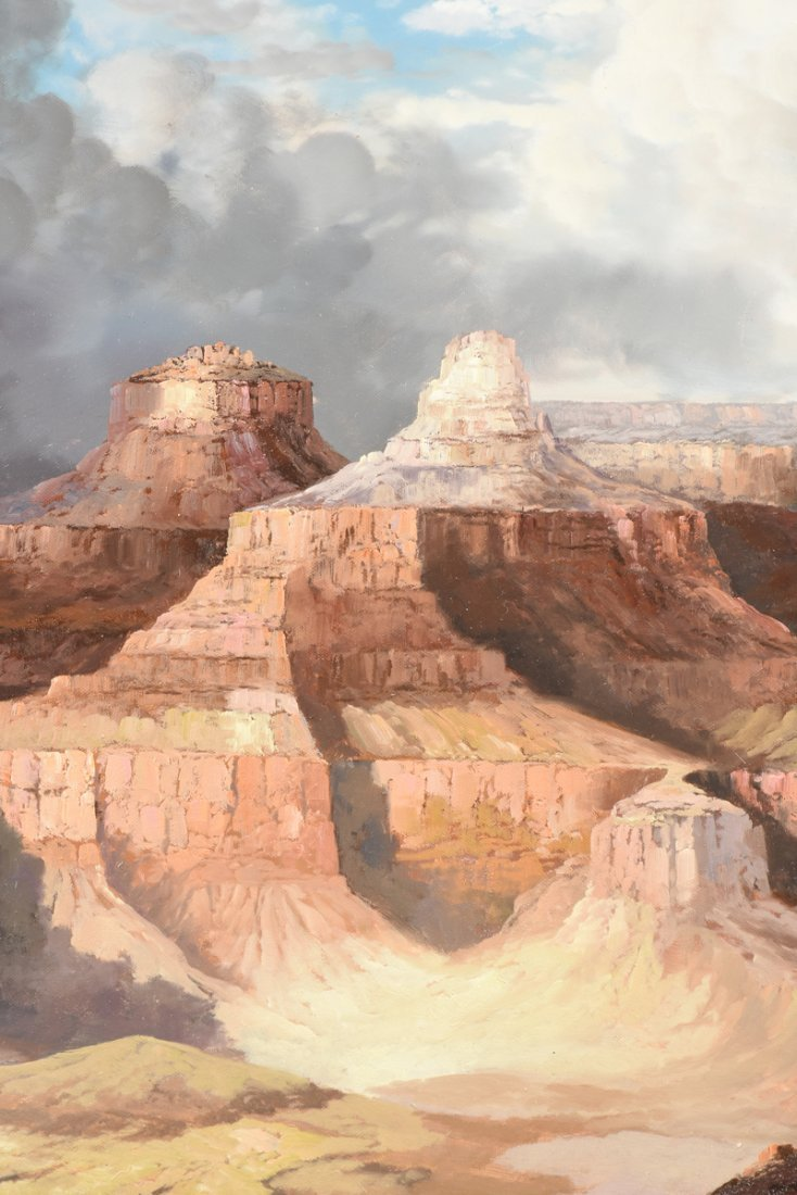 """NANCY LEE (20th Century) A PAINTING, """"The Grand Canyon, - 7"""