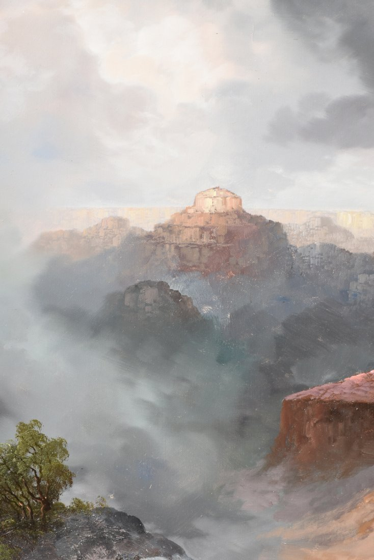 """NANCY LEE (20th Century) A PAINTING, """"The Grand Canyon, - 9"""