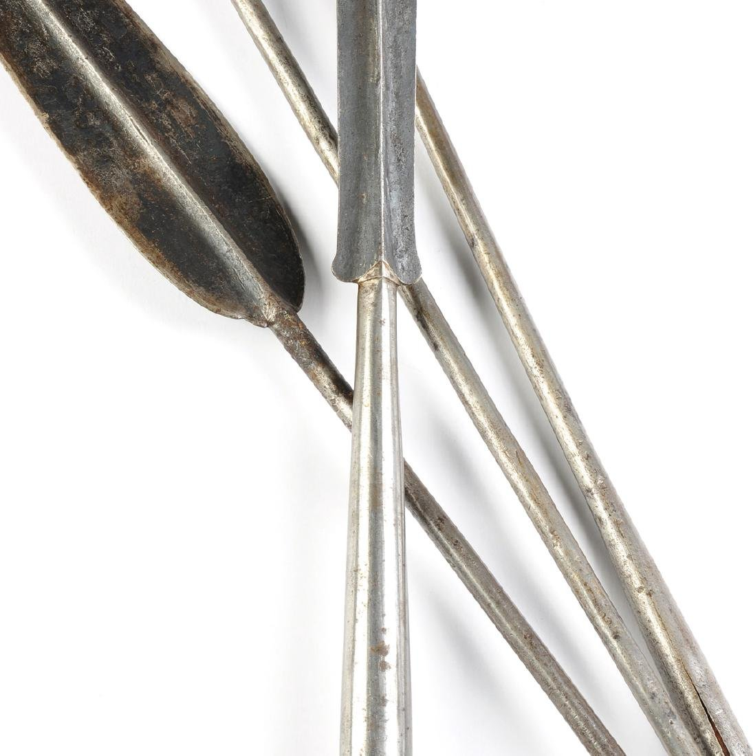 A GROUP OF FOUR EAST AFRICAN TRIBAL SPEARS, POSSIBLY - 3