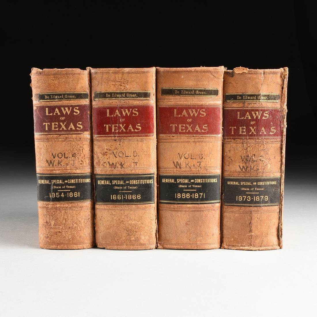 GAMMEL, HANS PETER MAREUS (American 1854-1931) ELEVEN