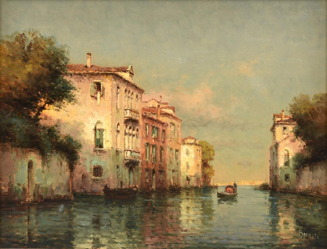 """ANTOINE BOUVARD (French 1840-1920) A PAINTING, """"Quiet"""