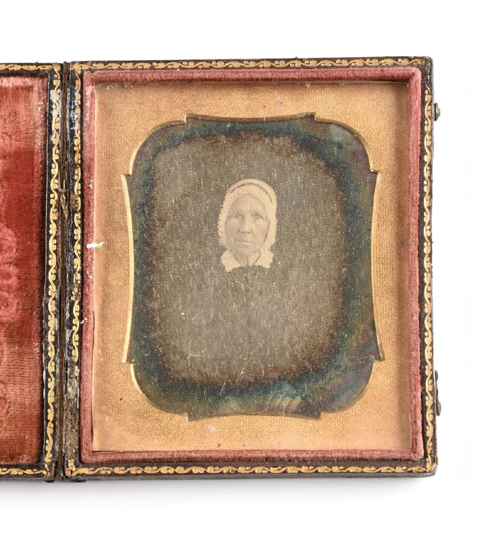 A GROUP OF FIVE EARLY PHOTOGRAPHIC PORTRAITS IN LEATHER - 2