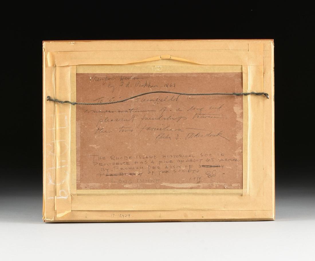 FELIX AUGUSTUS PECKHAM (American 1837-1876) A PAINTING, - 6