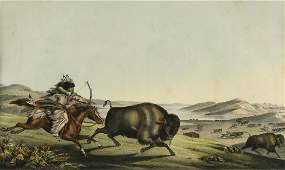 after ALFRED HOFFY (American 1790-1860) A LITHOGRAPH,