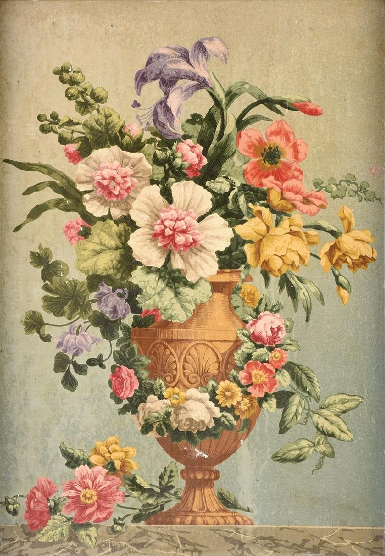 """AMERICAN SCHOOL (Mid 20th Century) A PAINTING, """"Floral"""
