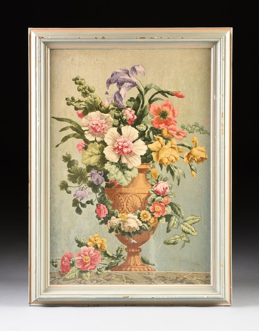 """AMERICAN SCHOOL (Mid 20th Century) A PAINTING, """"Floral - 2"""