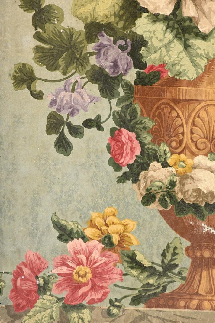"""AMERICAN SCHOOL (Mid 20th Century) A PAINTING, """"Floral - 3"""