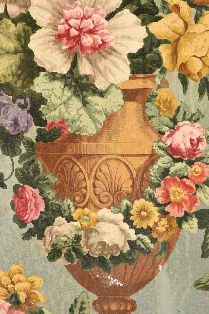 """AMERICAN SCHOOL (Mid 20th Century) A PAINTING, """"Floral - 5"""