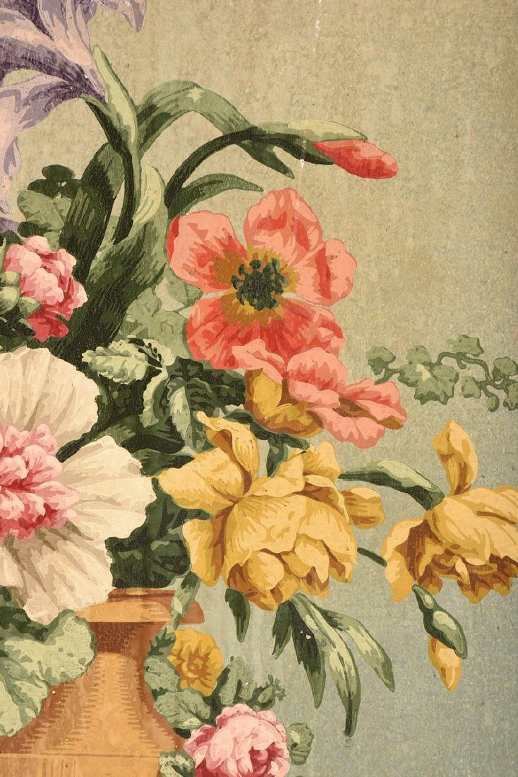 """AMERICAN SCHOOL (Mid 20th Century) A PAINTING, """"Floral - 7"""