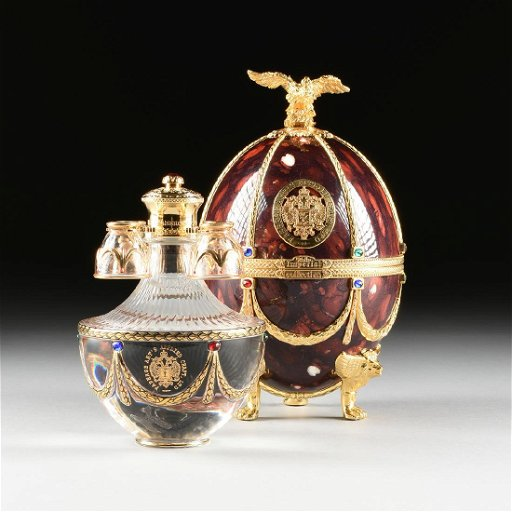 A Faberge Art S Applied Craft From The Vodka Imperial Jul 22 2018 Houston Auction Company In Tx