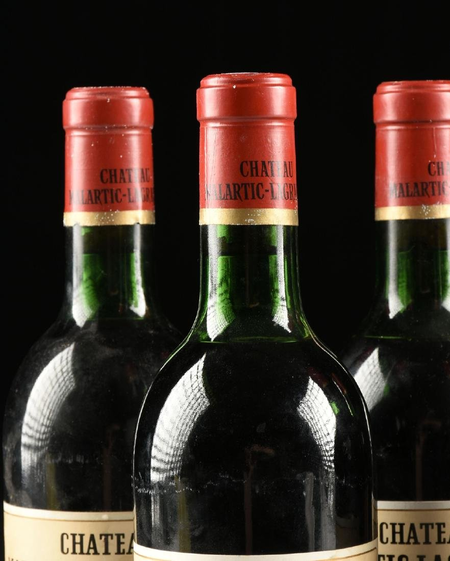 A GROUP OF FIVE BOTTLES OF 1972 CHÂTEAU - 3