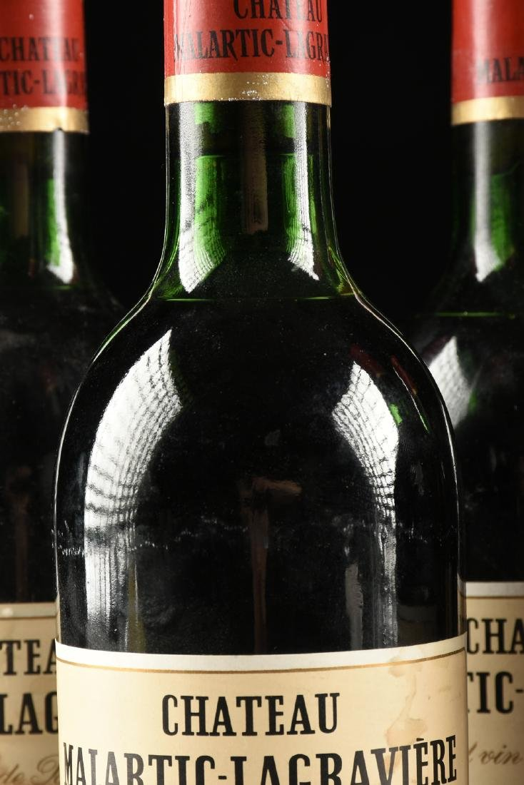 A GROUP OF FIVE BOTTLES OF 1972 CHÂTEAU - 5