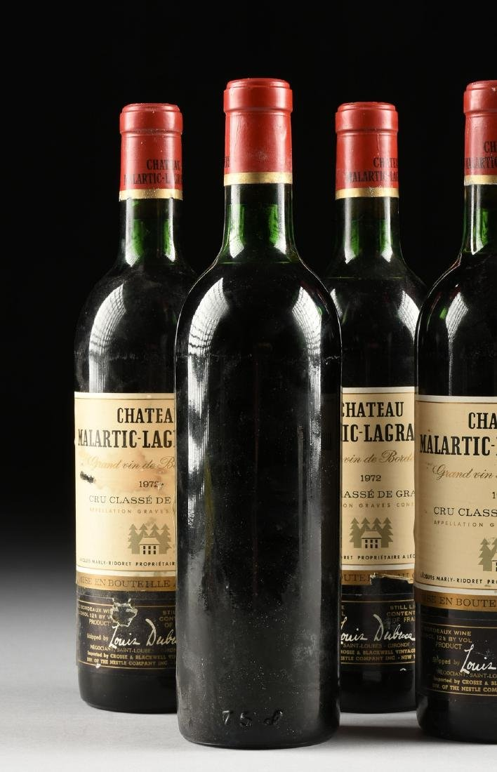 A GROUP OF FIVE BOTTLES OF 1972 CHÂTEAU - 6