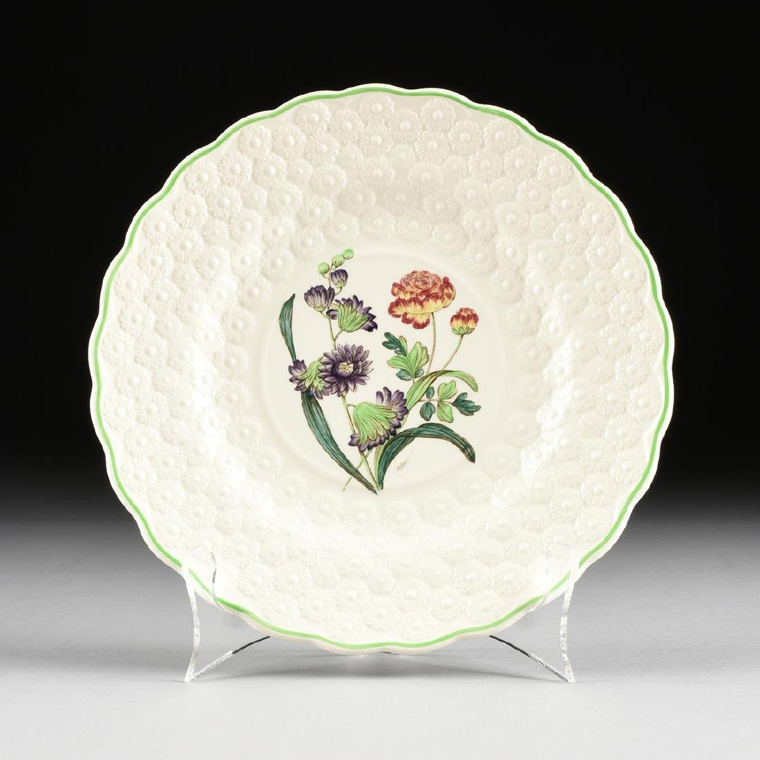 A SET OF SEVEN COPELAND SPODE TRANSFER PRINTED LUNCHEON - 10