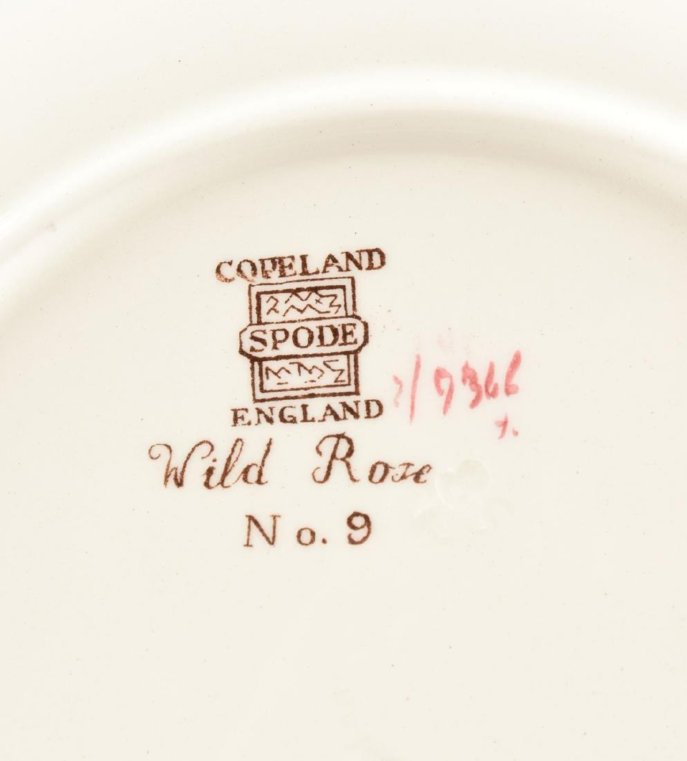 A SET OF SEVEN COPELAND SPODE TRANSFER PRINTED LUNCHEON - 5